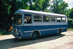 Quarta fermata fotografica (maximilian91) Tags: fiat314cansa fiat314 fiatcansa fiat oldbuses vintagebuses italianbuses italia italy liguria laspezia provia provia100 35mm film analogue nikonfe