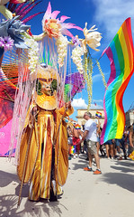 Drag_Ybridex_Gay_Pride_Montpellier_2018_Peyrou4 (AngeloDemon) Tags: dragybridex dragqueen drag desfile angelodemon arcenciel marchedesfiertés makeup maquillage multicolore montpellier gaypridemontpellier gaypridemontpellier2018 montpellierpride pridemontpellier2018 ybridex creature creation costume parade pride peyrou colorful flag rainbowflag rainbow drapeau poesie poetry plateformshoes plataformas plateformes 30cm 2018 bottes atlantidevoyager atlantide atlante jardin