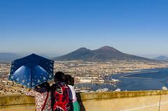 Vesuvio (FrancescoDiBenedetto89) Tags: umbrella napoli castel sant elmo vesuvio