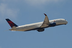 Delta Airlines A350-941 (N504DN) LAX Takeoff 4 (hsckcwong) Tags: deltaairlines a350941 a350900 n504dn lax klax airbusa350