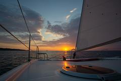 Deck (Joachim S.) Tags: gegenlicht luk makani mittelmeer sardinien segel segeln sonnenaufgang sup wolken santeodoro sardegna italy it