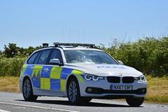 NX67 EBF (S11 AUN) Tags: cleveland police bmw 330d 3series touring anpr traffic car roads policing rpu 999 emergency vehicle nx67ebf