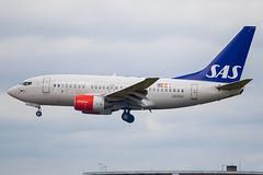 SAS - Boeing 737-683 LN-RGK @ London Heathrow (Shaun Grist) Tags: lnrgk sas boeing 737 shaungrist lhr egll london londonheathrow heathrow airport aircraft aviation aeroplane airline avgeek