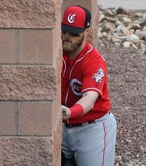 Tucker Barnhart (jkstrapme 2) Tags: baseball jock cup bulge jockstrap