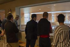 Representantes de 30 municipios visitan las instalaciones del polideportivo Landako II de Durango.