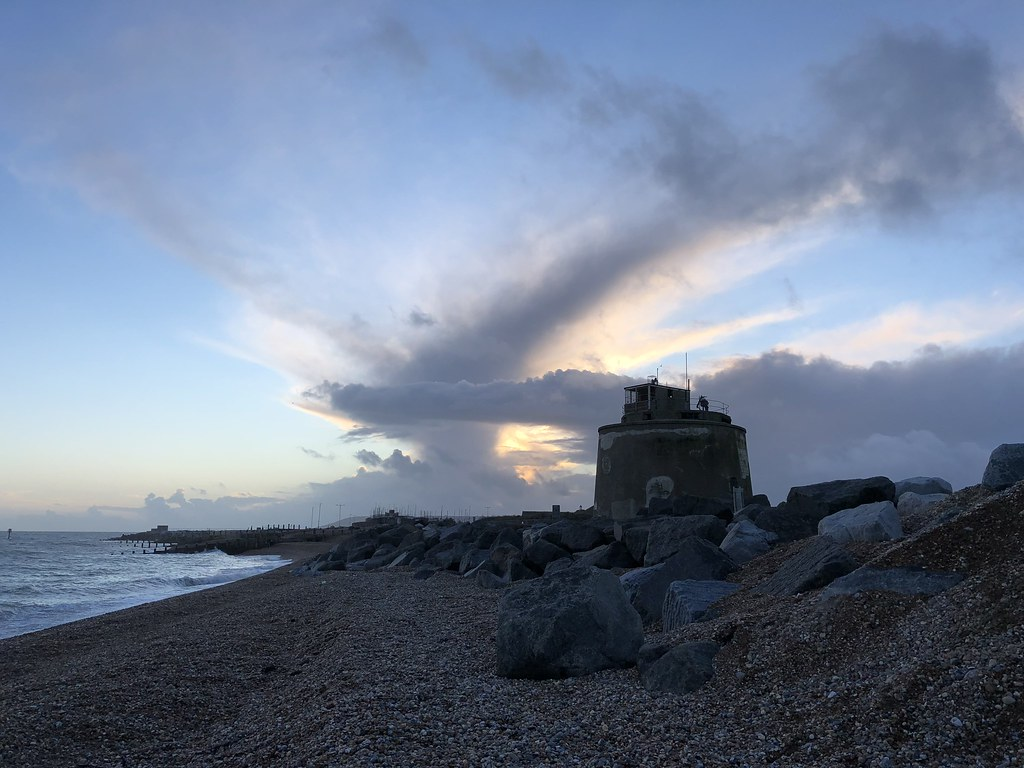 Martello Tower Number 66, Eastbourne Beach, UK
