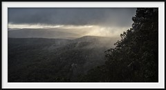wind and rain (Andrew C Wallace) Tags: sunset thebalconies grampiansnationalpark victoria australia thephotontrap olympusomdem5 microfourthirds m43 rain wind