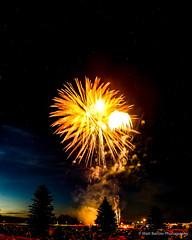Fireworks and Stars (Matt Barlow Photography) Tags: fireworks stars night dark july 4th usa america freedom light burst sunset dusk