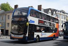 SO 10435 @ High Street, Oxford (ianjpoole) Tags: stagecoach oxfordshire alexander dennis enviro 400mmc sk15hcx 10435 working route 1 sandy lane blackbird leys speedwell street oxford