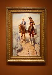 James Museum (ktmqi) Tags: jamesmuseum stpetersburg florida americanart paintings gallery americanwest amer williambuckdunton prairiecourtship 1910 oiloncanvas