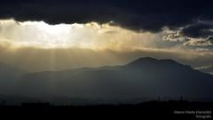 God is speaking (marcomariamarcolini) Tags: marcomariamarcolini nikond810 clouds god speech understanding color mountains sky landscape sunset dusk darksky nikkor70200f4vr iran sunbeams sunrays cielo tempesta dio nuvole raggidisole