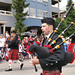 Pipers in Whistler's Canada Day parade