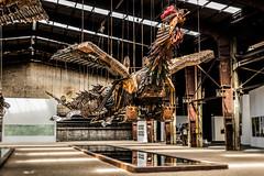 Phoenix (michael_hamburg69) Tags: schleswigholstein büdelsdorf carlshütte kunst art nordart 2018 sculpture skulptur künstler artist sculptor 徐冰 xúbīng xubing phönix phoenix constructiondebris vogel drache bird dragon my1rstideawasdragon