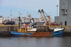 FR.357 Trawler (syf22) Tags: ship boat fishing trawler water fisherman vessel work fraserburgh harbour pier berth craft barge