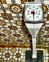 Photo of a scale not taken to scale (neilsharris) Tags: chicagoabandoned