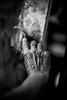 The painter (Black&Light Streetphotographie) Tags: mono monochrome menschen menschenbilder leute personen people portrait urban trier tiefenschärfe sony dof fullframe vollformat city closeup hand hands painter maler