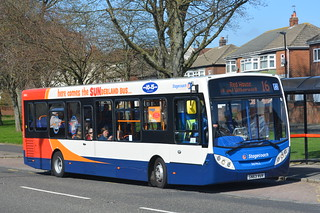 36962 SN63 VUV Stagecoach North East