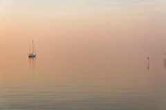 The Silent Dawn (Alfred Grupstra) Tags: sea nauticalvessel nature sailboat water sunset tranquilscene outdoors sailing summer sky reflection coastline landscape lake yacht scenics sunlight vacations beach 908