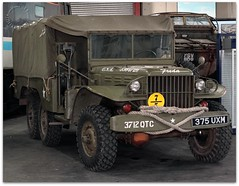 375 UXM (zweiblumen) Tags: 375uxm wwii us military vehicle 3712qtc freda creweheritagecentre crewe cheshire england uk canoneos50d canonef50mmf14usm polariser canonspeedlite430exii lumiquestpocketbouncer zweiblumen picmonkey