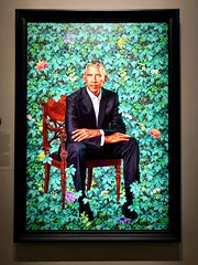*All* the feels —Barack Obama served as the 44th President of the United States 🇺🇸 from January 20, 2009, to January 20, 2017 💕 (anokarina) Tags: independenceday fourthofjuly appleiphone8 pennquarter nationalmall monumentalcore smithsonianinstitution art painting museum saam americanartmuseum nationalportraitgallery portrait president barackobama potus instagram nofilter chinatown dcist