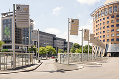 Busstaking (Tim Boric) Tags: amersfoort stationsplein busstation bus station staking strike