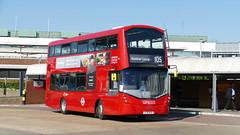 Airport Addition (londonbusexplorer) Tags: london united ratp group volvo b5lh wrightbus gemini 3 vh45271 lf18axa 105 heathrow central greenford station tfl buses