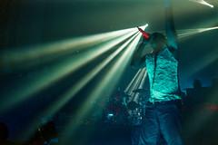 (ニノ Nino) Tags: prodigy maxim reality keith flint liam howlett brixton academy o2 london england uk strobe lighting light stage music live concert fuji natura 1600 fujifilm fujicolor olympus mju ii epson v550