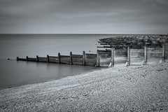 Whitstable Groynes (Alan E Taylor) Tags: atmospheric bw beach blackwhite blackandwhite coast coastal dark dramatic england europe fineart firecrest16stopfilter kent le landscape lightroom longexposure mono monochrome noiretblanc ocean sea seleniumtone shore skylum skylumtonalityck tourism tourist travel uk unitedkingdom water whitstable britain british english groyne seascape seaside gb