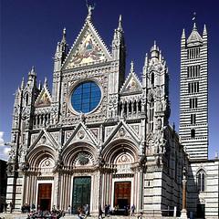 Duomo di Siena (pom'.) Tags: cattedraledisantamariaassunta 1215 1263 santamariaassunta panasonicdmctz101 april 2018 siena italy italia tuscany toscana europeanunion duomodisiena campaniledisiena 13thcentury 100 200 300