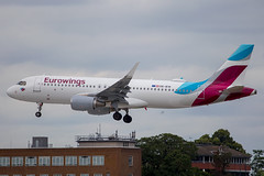 Eurowings Europe - Airbus A320-214/S OE-IEW @ London Heathrow (Shaun Grist) Tags: oeiew ew eurowings airbus a320 shaungrist lhr egll london londonheathrow heathrow airport aircraft aviation aeroplane airline avgeek
