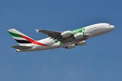 EK0002 LHR-DXB (A380spotter) Tags: takeoff departure climb climbout airbus a380 800 msn0182 a6eoj expo2020dubaiuaeofficialpremierpartner decal sticker decals stickers logojet livery scheme colours green 2018 38m longrangeconfiguration 14f76j429y الإمارات emiratesairline uae ek ek0002 lhrdxb runway09r 09r london heathrow egll lhr