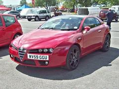 43 Alfa Romeo Brera V6 JTS (2009) (robertknight16) Tags: alfaromeo italy italian 2000s brera giugiaro ital oulton wv59ggu