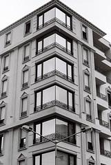 (elmahiko) Tags: architecture simetry building windows street geometry squares triangles lines contemporary contemporaryart structure bw bwfilm 135film 35mmfilm 35mmbw ilford ilfordhp5plus canona1 canonfd 50mmlens monochrome analog analogphotography analogue filmphotography film