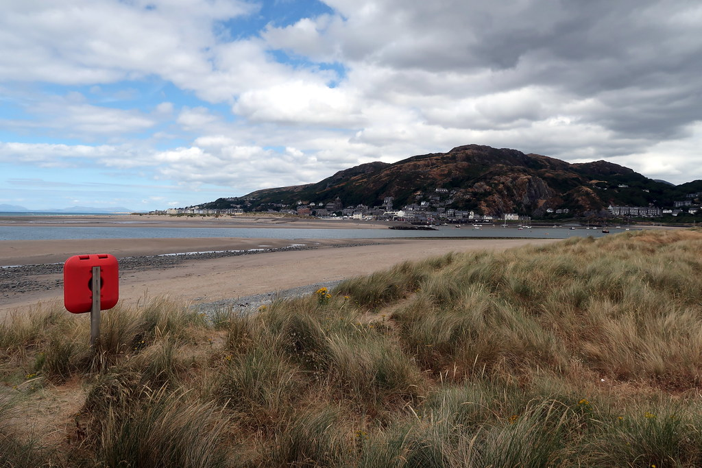Barmouth viewed from Fairbourne