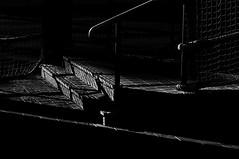 Lonely ol' Night  !!! (imagejoe) Tags: vegas street nevada strip black white photography photos shadows reflections tamron nikon