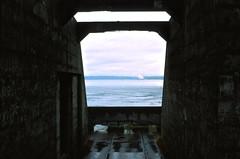 Fort Casey into the sound (edwardcgonzales) Tags: velvia velvia50 fuji fujifilm slidefilm film 35mm analog 50mm 50mmf14 canonfd50mmf14 canonfd 50mmf18fd