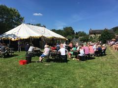 Crowds listen to Elvis perform at Elvisham 14Jul18