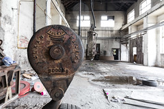 vulkan (dadiolli) Tags: ljubljana slowenien si slovenianrailwaymuseum industrieromantik decay industry