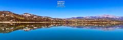 Cuando la vista se llena... (Andres Breijo http://andresbreijo.com) Tags: pantano embalse viñuela axarquia malaga andalucia españa spain agua water lake panorámica panoramic reflejo mirror espejo