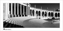 Fatima (ximo rosell) Tags: ximorosell bn blackandwhite blancoynegro bw buildings llum luz light stairs people portugal nikon d750 arquitectura architecture