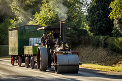 Kelsall to Acton Bridge road run (Ben Matthews1992) Tags: 1924 aveling porter roller 10905 nx6366 steam traction engine kelsall rally cheshire uk england britain british rolling road run delamere forest old vintage historic preserved preservation