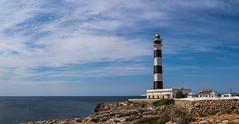 El Faro d'Artrutx (Mac ind Óg) Tags: islasbaleares summer spain españa minorca balearicislands lighthouse calanbosch walking menorca landscape faro holiday capdartrutx illesbalears seascape