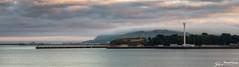 Shrouded (stewartl2010) Tags: dorset jurassicskyline letterboxformat portland nothefort weymouth coastal colorefexpro4 nikfilters seascape shrouded evening uk sea england unitedkingdom gb