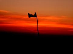 ##black flag (ThorstenWiggers62) Tags: holiday denmark blavand strand sea lightfire sunset