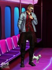. EohB . #Catwa #Straydog #Modulus #AITUI #Gild #ValeKoer #Versov (Crayolas Clothes) Tags: catwa straydog modulus aitui gild valekoer versov fameshed tmd mensdept men man male mate boddy thick gay guy } pride train bus travel capes skirt jacket plain frame shins jeans dennin shoes