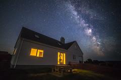 Aberdaron Holiday Cottage (A Crowe Photography) Tags: aberdaron aberdaronholidays holiday wales welshflickrcymru welshphotography welshlandscape walesnighttime nighttimephotography milkyway
