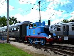 Day Out With Thomas (Vinny Gragg) Tags: cloud clouds trees train trains engine locomotive loco choochoo railroad railway irm illinoisrailwaymuseum museum museums union illinois unionillinois dayoutwiththomas thomas thomasthetankenginefriends thomasthetankengine