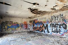 Hahn Pride (Curtis Gregory Perry) Tags: denio nevada abandoned building graffiti facto lisp plague pleg vandalism old crumbling decay desert nikon d810