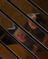 Self Portrait (yellowgreywolf) Tags: roofofaresturant yellowgreywolf glass reflections selfportrait roadtripp