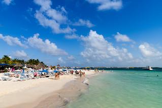 Beaches of Isla Mujeres Mexico